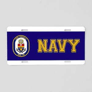 USS Preble DDG-88 Aluminum License Plate