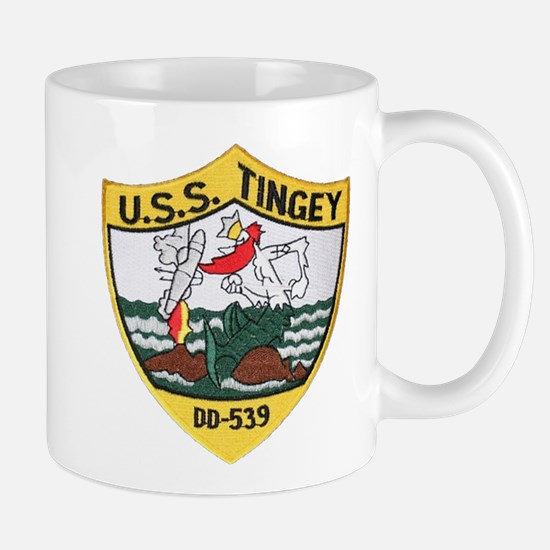 USS TINGEY Mug