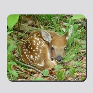 spotted fawn Mousepad