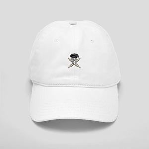 Chef Crossed Rolling Pins Black Baseball Cap
