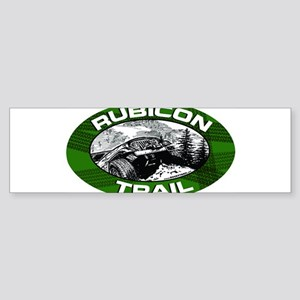 2-rubicon-oval-sticker Bumper Sticker
