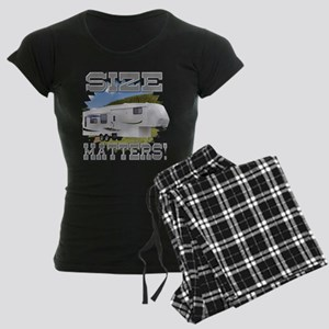 Size Matters Fifth Wheel Women's Dark Pajamas