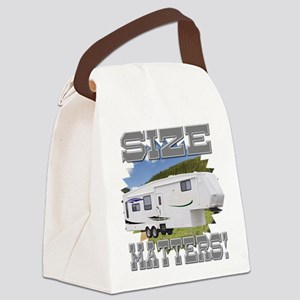 Size Matters Fifth Wheel Canvas Lunch Bag