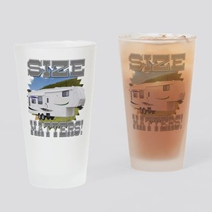 Size Matters Fifth Wheel Drinking Glass