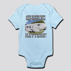 Size Matters Fifth Wheel Infant Bodysuit