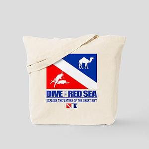 Dive The Red Sea Tote Bag