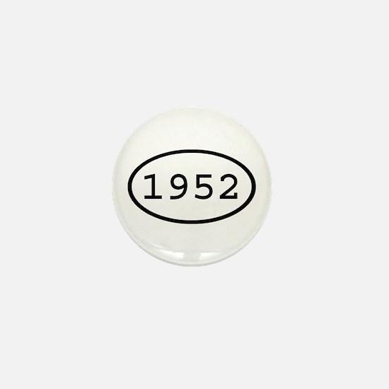 1952 Oval Mini Button