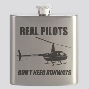 Real Pilots Dont Need Runways Flask