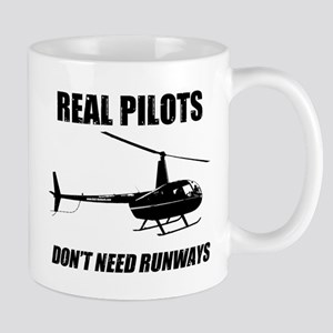 Real Pilots Dont Need Runways Mugs