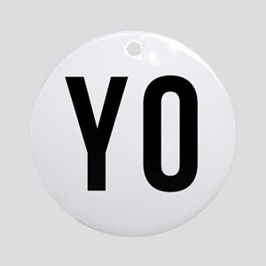 Yo Ornament (Round)