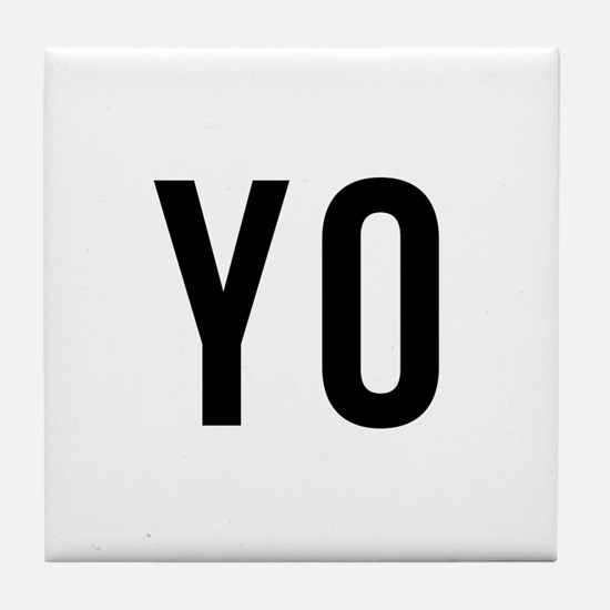 Yo Tile Coaster