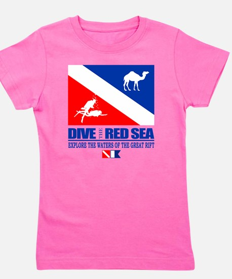 Dive The Red Sea Girl's Tee