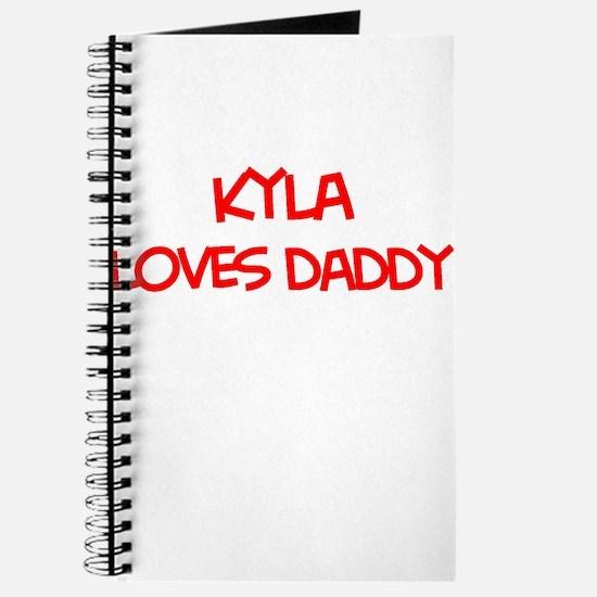 Kyla Loves Daddy Journal