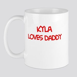 Kyla Loves Daddy Mug