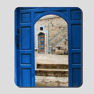 Safed Mystical Door Mousepad