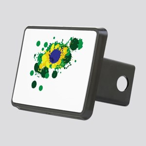 Brazil Flag- Hitch Cover
