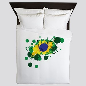 Brazil Flag- Queen Duvet