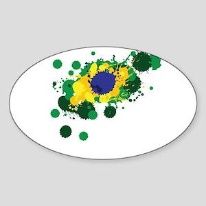 Brazil Flag- Sticker