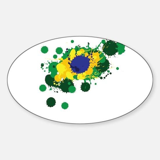 Brazil Flag- Decal