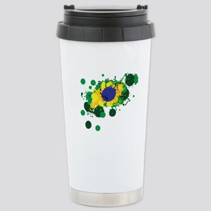 Brazil Flag- Travel Mug
