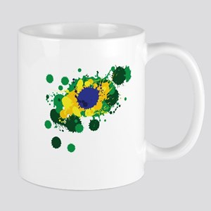 Brazil Flag- Mugs