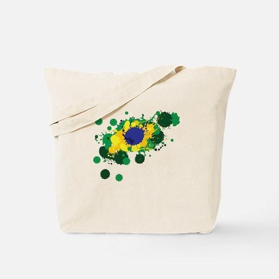 Brazil Flag- Tote Bag