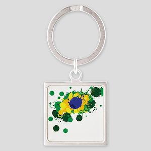 Brazil Flag- Keychains