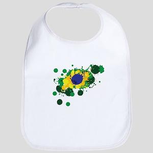 Brazil Flag- Bib