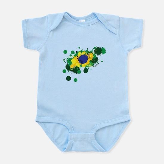 Brazil Flag- Body Suit