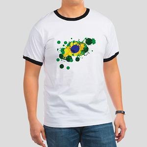 Brazil Flag- T-Shirt