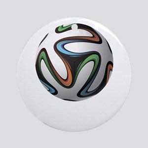 FIFA WorldCup Brazil Ornament (Round)