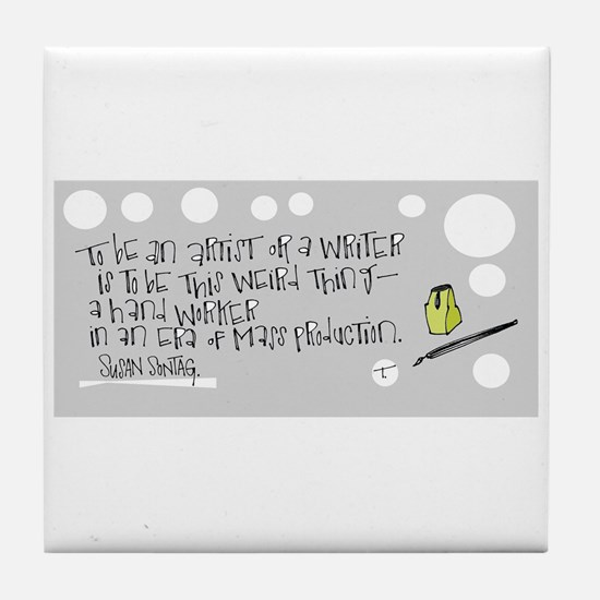 Crafting Your Work Tile Coaster