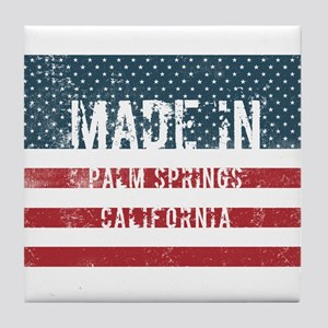 Made in Palm Springs, California Tile Coaster