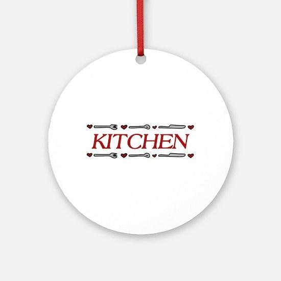 Kitchen Ornament (Round)