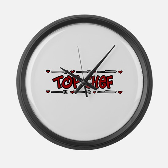 Top Chef Large Wall Clock