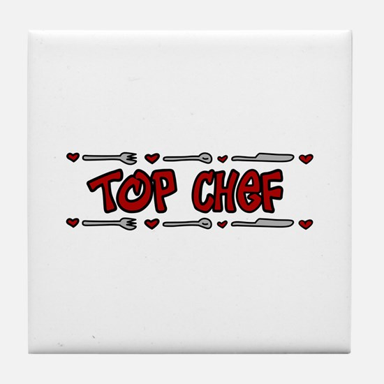Top Chef Tile Coaster