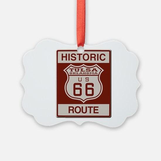 Tulsa Route 66 Ornament