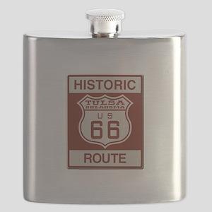 Tulsa Route 66 Flask