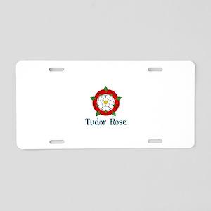 Tudor Rose Aluminum License Plate