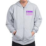 Strong Is The New Skinny Zip Hoodie