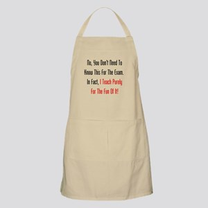 No, You Dont Need To Know This Apron