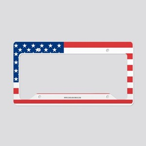 US Flag License Plate Holder