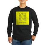 Long Sleeve Dark Dance T-Shirt