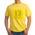 Yellow Dance T-Shirt