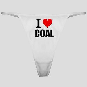 I Love Coal Classic Thong