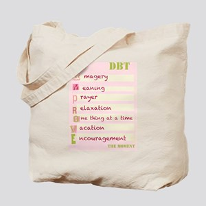 DBT Skills IMPROVE Tote Bag