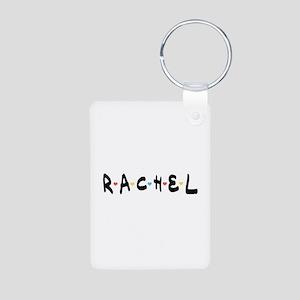 'Rachel' Aluminum Photo Keychain