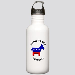 Proud to be a Democrat Stainless Water Bottle 1.0L