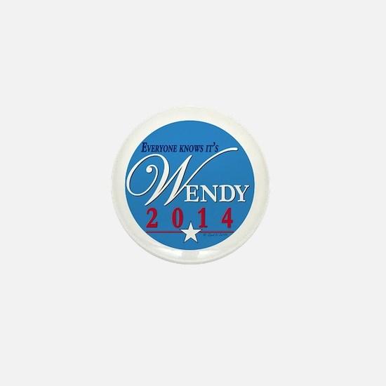 Wendy 2014 Mini Button