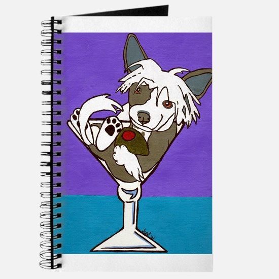 Chinese Crested Martini Journal